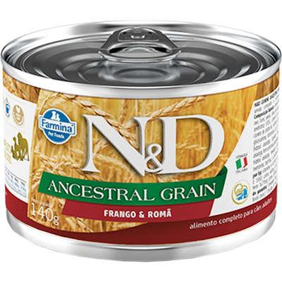 ND CANINE WET ANCESTRAL FRANGO 140G