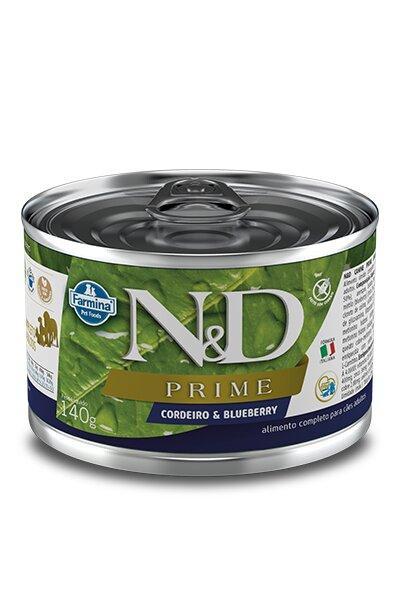 ND CANINE WET PRIME CORDEIRO 140G