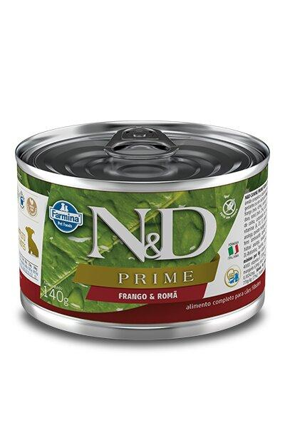 ND CANINE WET PRIME FRANGO PUPPY 140G