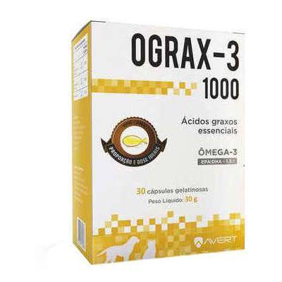 OGRAX-3 1000MG 30 CAPS.