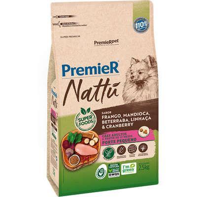 PREMIER NATTU RACAS PEQ. AD MANDIOCA 2,5 KG
