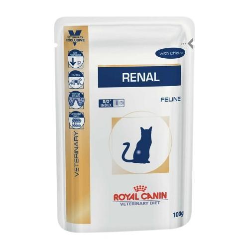 RC FELINE RENAL WET 85G