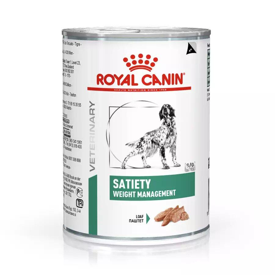 RC VD CANINE SATIETY SUPPORT WET 0,410KG