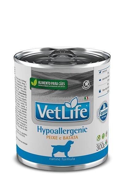 VET NAT CAN WET HYPOALLERGENIC PEIXE 300G
