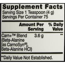 Beta Alanina - BSN Nutrition (300 Gramas - 75 Doses)