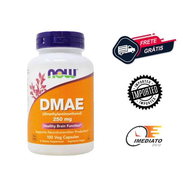 DMAE - Now Foods (250mg - 100 cápsulas)