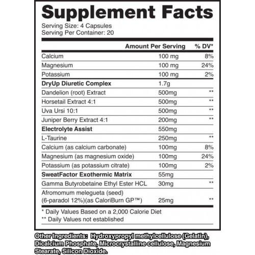 Dry UP - Dragon Pharma (80 Cápsulas)