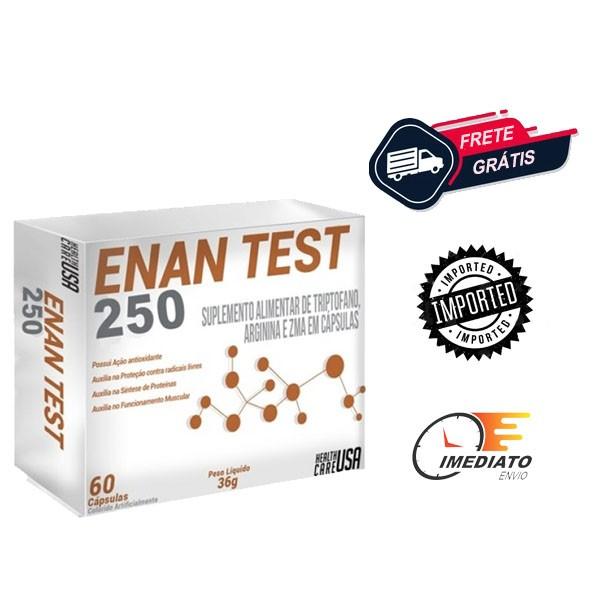 Enan Test 250 - Health Care USA  (30 Doses)| Ciclo de Enantato de testosterona
