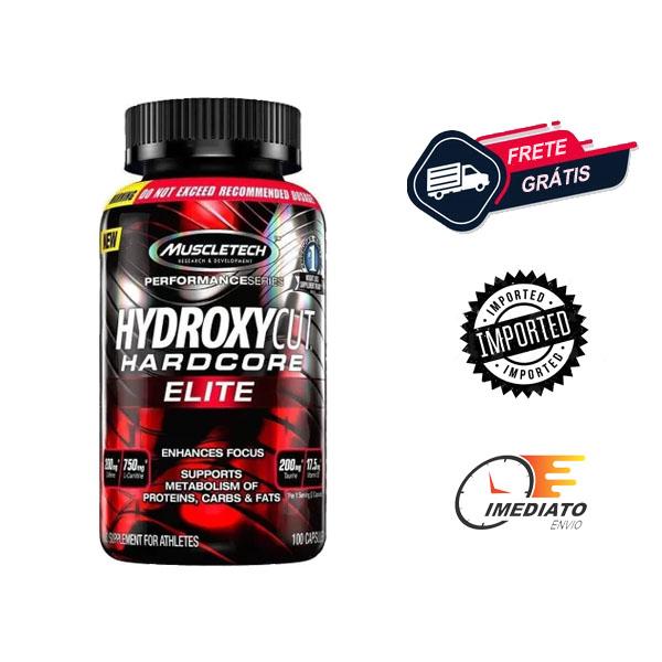 Hydroxycut Hardcore Elite - Muscletech (100 Cápsulas)