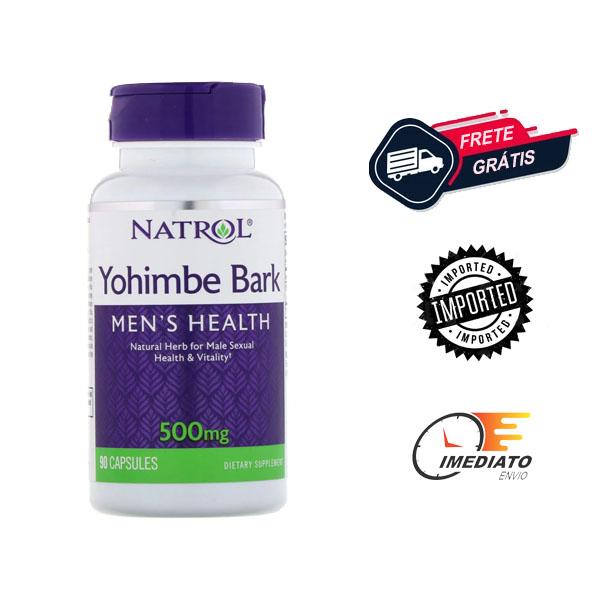 Ioimbina - Natrol (500 mg - 90 Cápsulas)