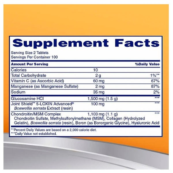 Osteo Bi Flex - Glucosamina , Condroitina e MSM (200 Tablets - Importado)