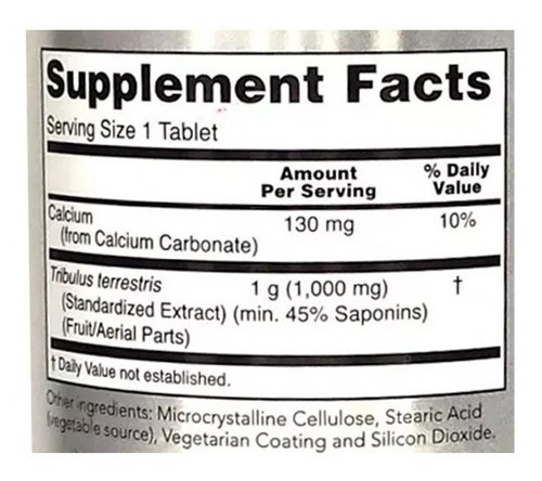 Tribulus Terrestris - Now Foods (90 Tablets - 1000 mg)