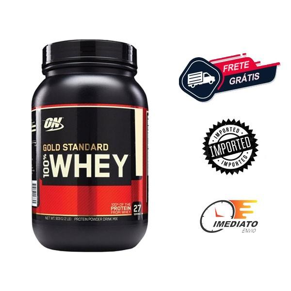 Whey Protein Gold Standard - Optimum Nutrition (0.9Kg)