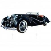 Gancheira carro antigo preto
