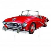 Gancheira carro vermelho