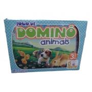 Jogo de dominó animais