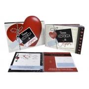 Livro personalizável Nossa história de amor