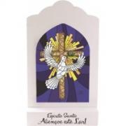 Madeirinha vitral Espirito Santo