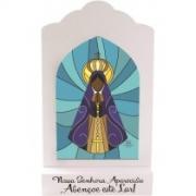 Madeirinha vitral Nossa Senhora Aparecida