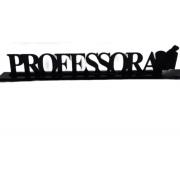 Placa profissão Professora