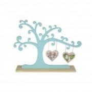 Porta retrato árvore com dois corações