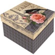 Caixa mini rígida quadrada