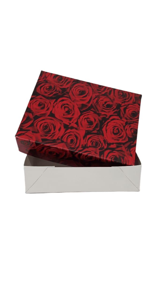 Caixa presentes Rosas PP