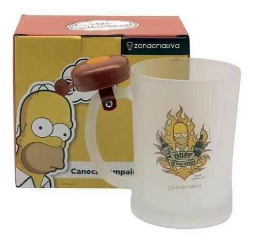 Caneca Campainha 650ml Simpsons