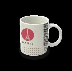 Caneca cerâmica Paris