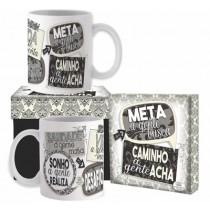 Caneca em cerâmica Meta