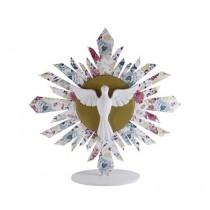 Enfeite de mesa Espírito Santo G Floral