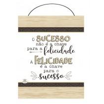 Flâmula O sucesso não é a chave para a felicidade