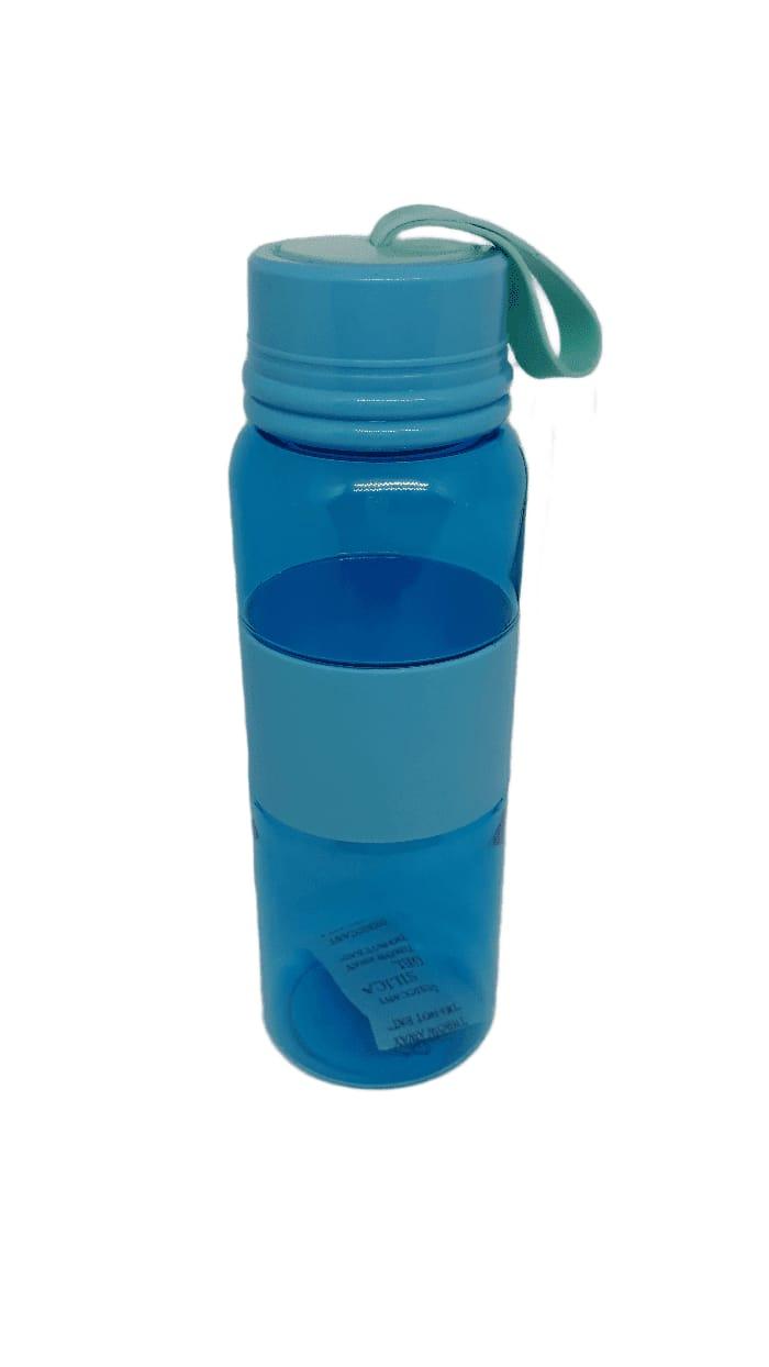 Garrafa plástica Azul