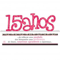 Madeirinha comemorativa 15 anos