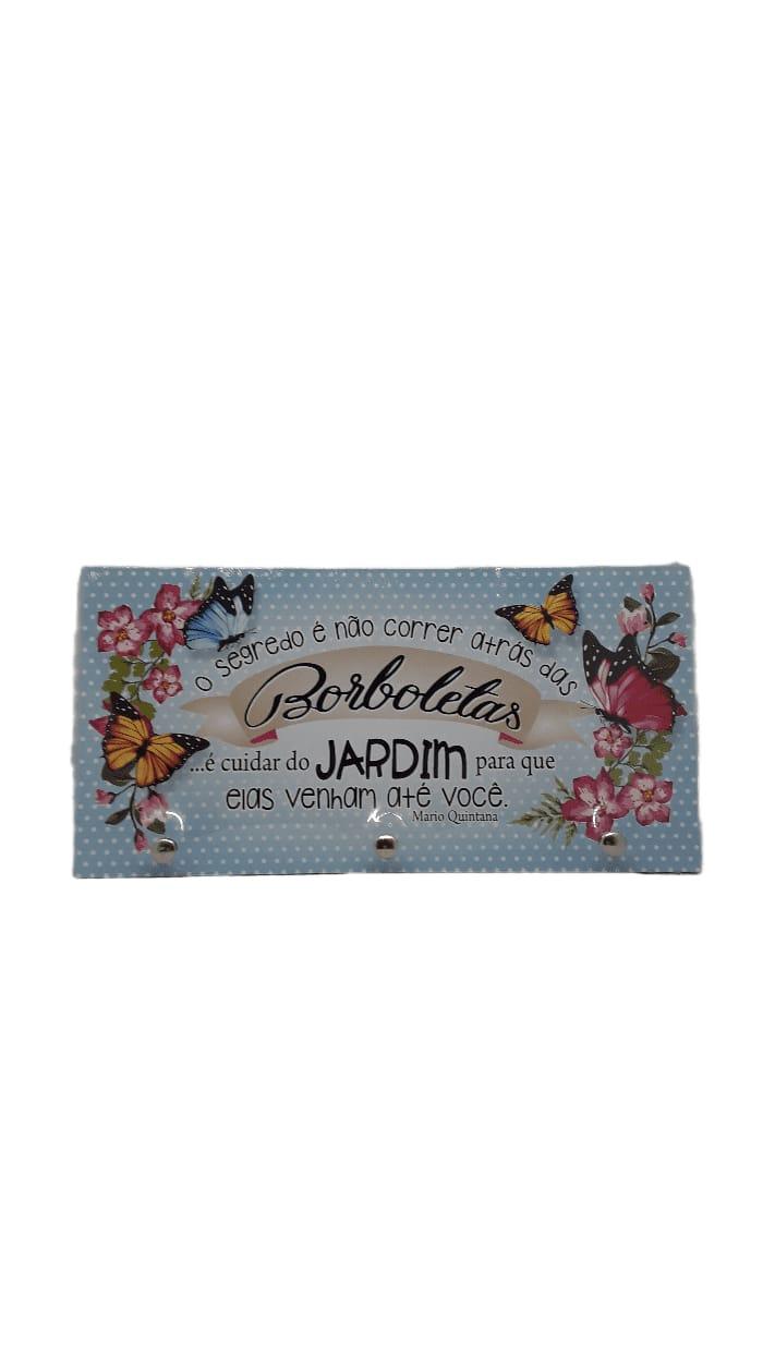 Porta chave borboletas