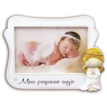 Porta retrato Meu pequeno anjo rosa