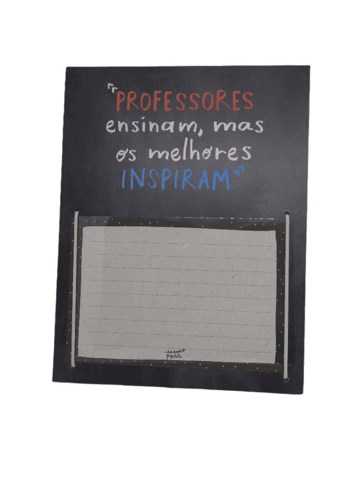 Porta retrato Professores