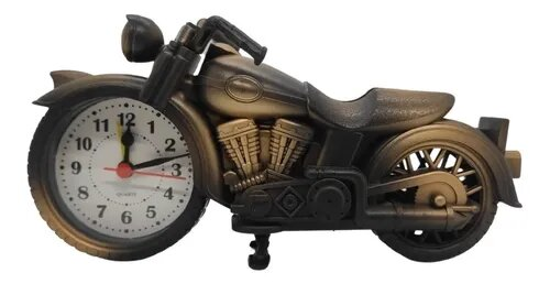 Relógio de mesa despertador Moto