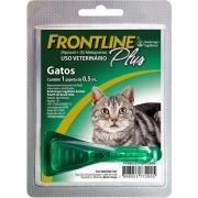 Antipulgas e Carrapatos Frontline Plus para Gatos - 0,5ml
