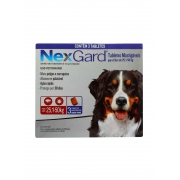 Antipulgas e Carrapatos NexGard 136 mg para Cães de 25,1 a 50 Kg - 3 Tabletes