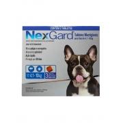Antipulgas e Carrapatos NexGard 28,3 mg para Cães de 4,1 a 10 Kg - 3 Tabletes