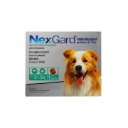 Antipulgas e Carrapatos NexGard 68 mg para Cães de 10,1 a 25 Kg - 1 Tablete