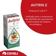 Avitrin E 15ml Aves Suplemento Vitamínico Coveli