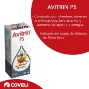 Avitrin Ps 15ml Aves Suplemento Vitamínico Coveli
