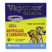 Coleira Antipulgas E Carrapatos - Vaponex 64 Cm.