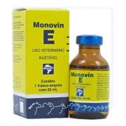 Monovin E 20 Ml Bravet Vitamina E Cães Equinos Bovinos