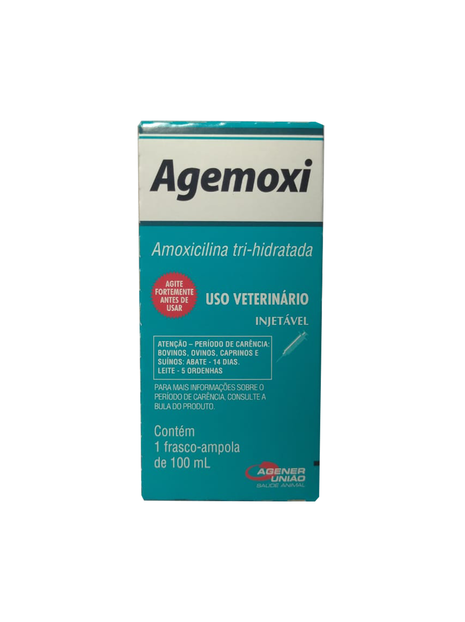 Agemoxi  Amoxicilina tri-hidratada - 100 ml  Agener