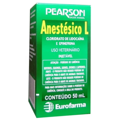 ANESTÉSICO L FR 50 ML EUROFARMA