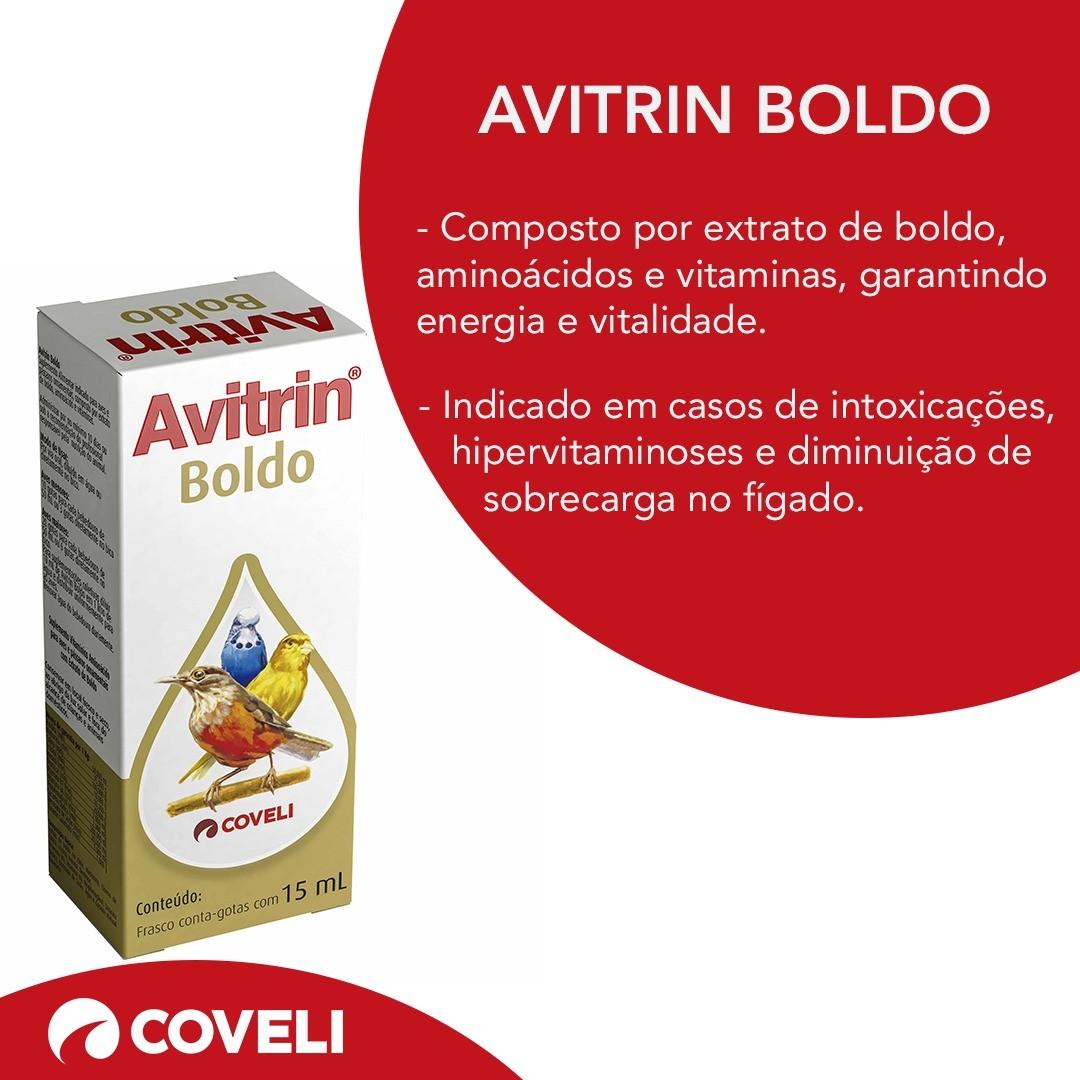 Avitrin Boldo 15ml - Coveli