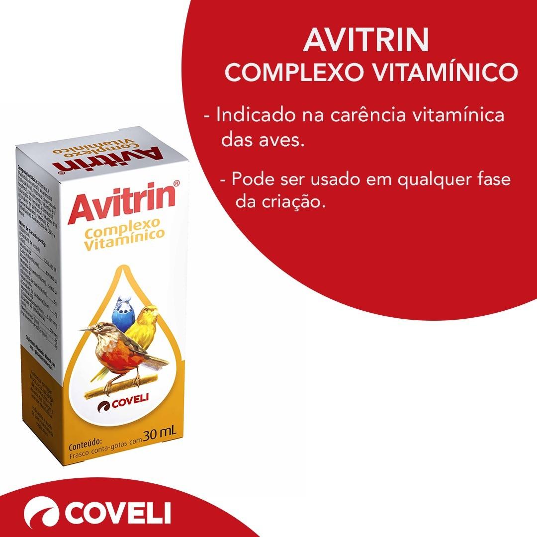 Avitrin Complexo Vitamínico - 30 Ml